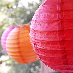 Round Paper Lanterns