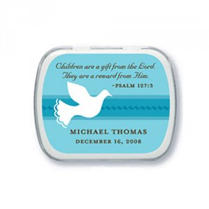 Exclusive Personalized Christening/Baptism Mint Tins