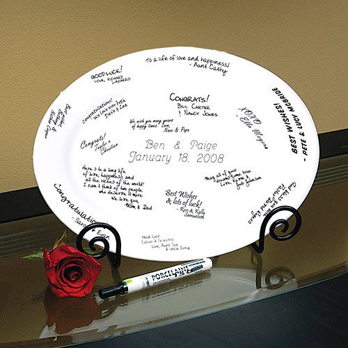 Personalized Signature Platter