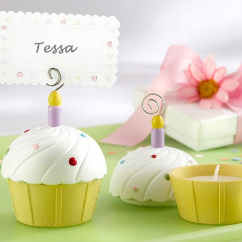 Cupcake Tea Light Place Card Holders