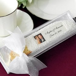 Personalized Photo Biscotti