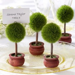 Topiary Place Card Holders