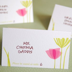 Themed Place Cards
