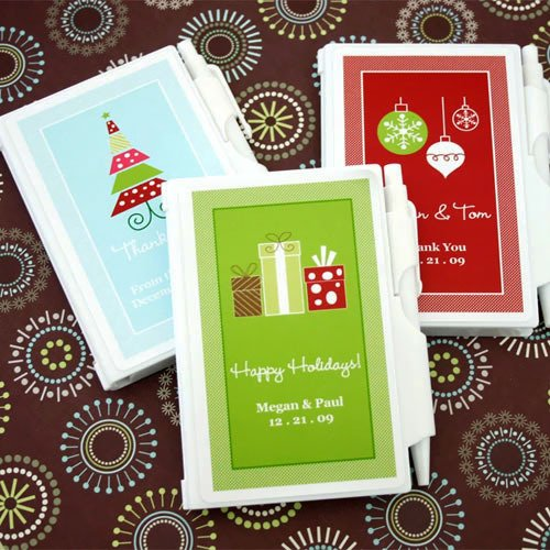 Personalized Holiday Notebooks