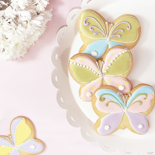 Butterfly Birthday Cookies