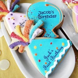 Personalized Birthday Cookies