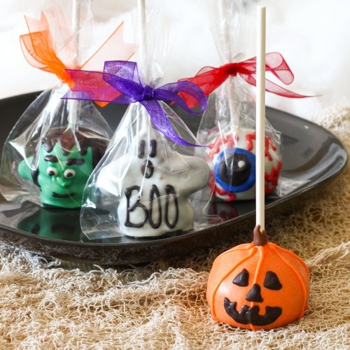 Halloween Cake Favor Pops