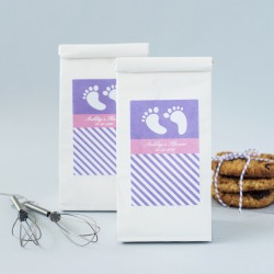 Personalized Baby Shower Cookie Mix Favors