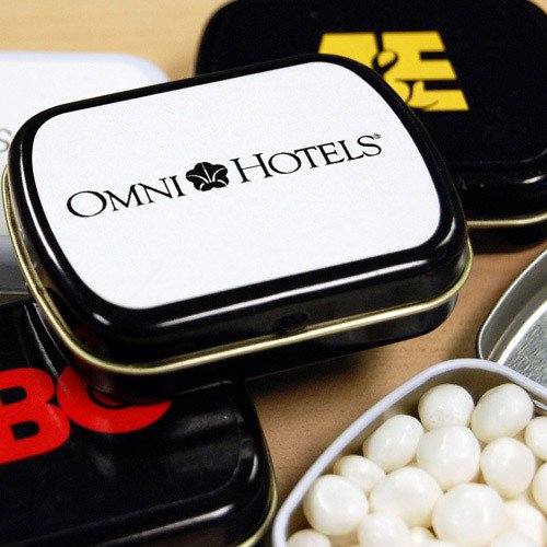 Personalized Corporate Mint Tins