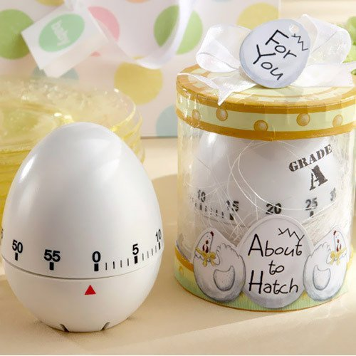"""About To Hatch"" Kitchen Egg Timer Favor"