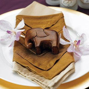 Lucky Mini Wood Elephant Favors
