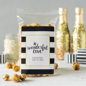 Personalized Caramel Corn