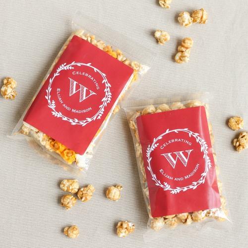 Personalized Caramel Corn