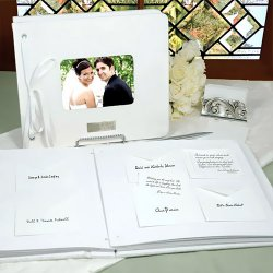 Wedding Wishes Card and Envelope Guest Book