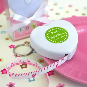 Personalized Tape Measure Favors