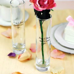 Personalized Mini Bud Vase Favors