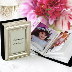 Mini Photo Album Favor / Place Card Holder