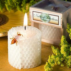 Beeswax Honeycomb Candle Favors