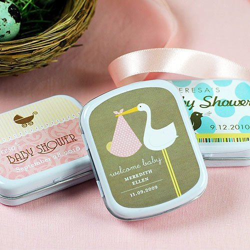 Exclusive Personalized Baby Shower Mint Tins