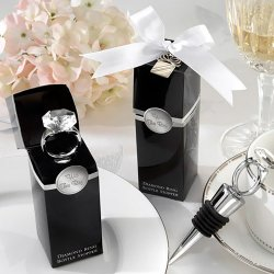 Diamond Ring Wine Stopper