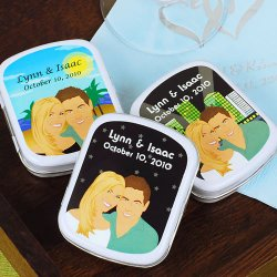 Custom Caricature Mint Tins