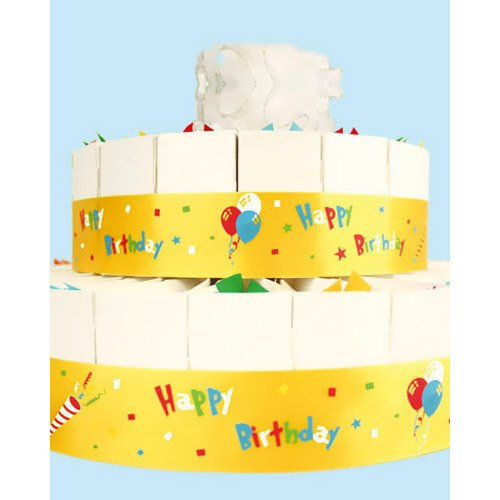 Two Tier Birthday Party Favor Cake Kits