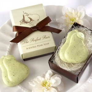 "The ""Perfect Pair"" Pear Soap Favor"