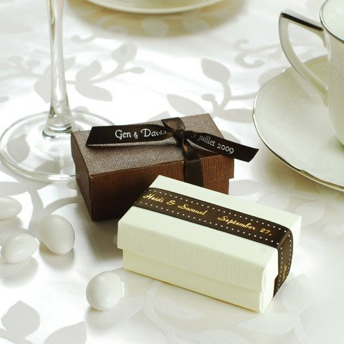 2 Piece Rectangular Favor Box