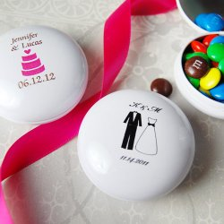 Personalized M&M Tins