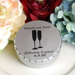 Personalized Snip Snap Favor Tin
