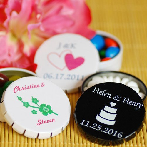 Personalized Snip Snap Favor Tins
