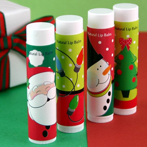 Christmas Lip Balms