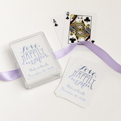 Love Laughter Customized Playing Cards
