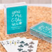 Customized You Me & the Sea Playing Cards