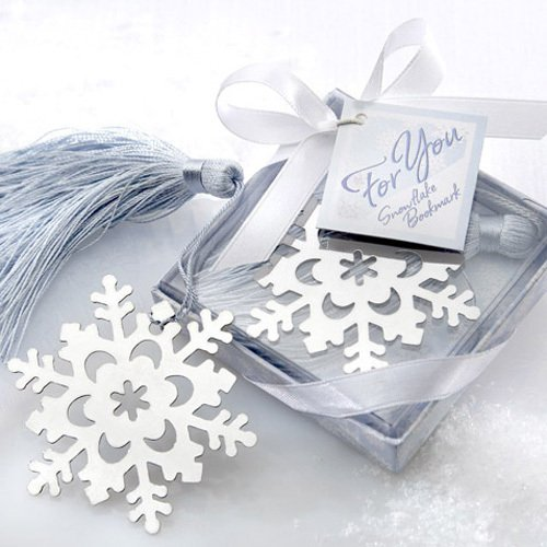 Snowflake Bookmark in Gift Box