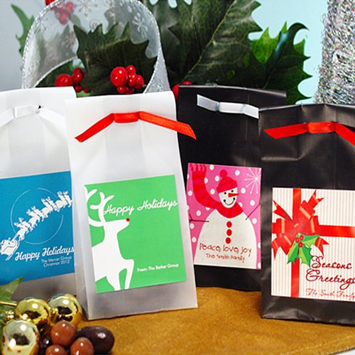 Holiday Personalized Candy Bags