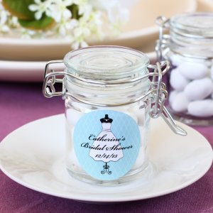 Personalized Glass Favor Jars