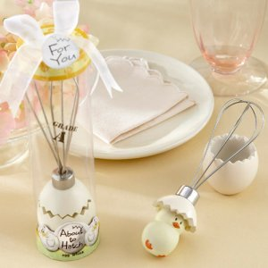 """About to Hatch"" Whisk Baby Shower Favor"