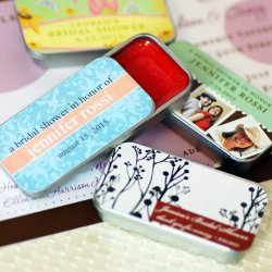 Personalized Bridal Shower Lip Gloss