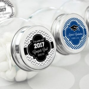Personalized Graduation Candy Jar