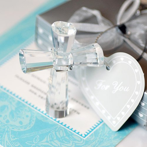 Crystal Cross Keepsake Crystal Cross Keepsake Favor