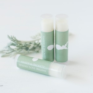 Personalized Lip Balm Party Favor
