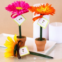 Flower Pot Pen Favor