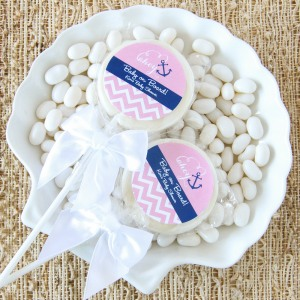 Personalized Baby Shower Lollipop Favor