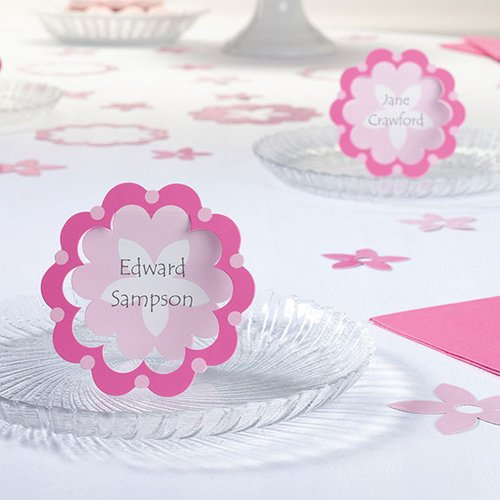 Flower Design Party Supplies