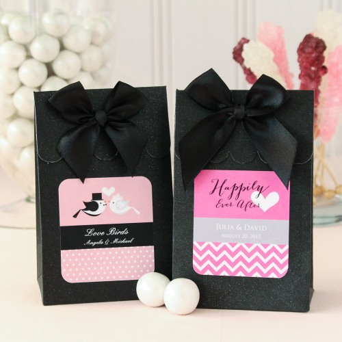 Personalized Bridal Candy Bags