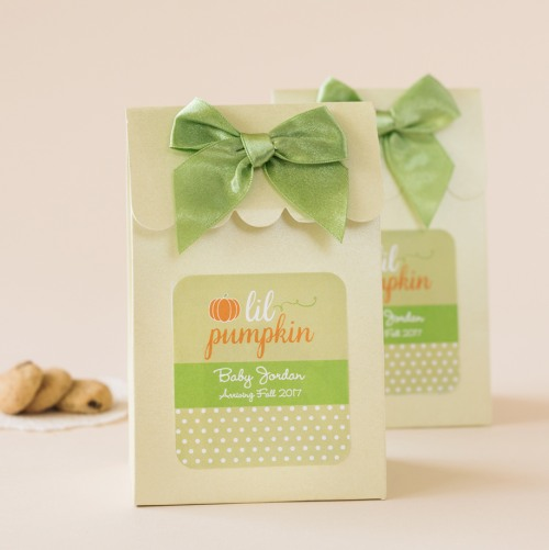 Personalized Lil' Pumpkin Candy Bags