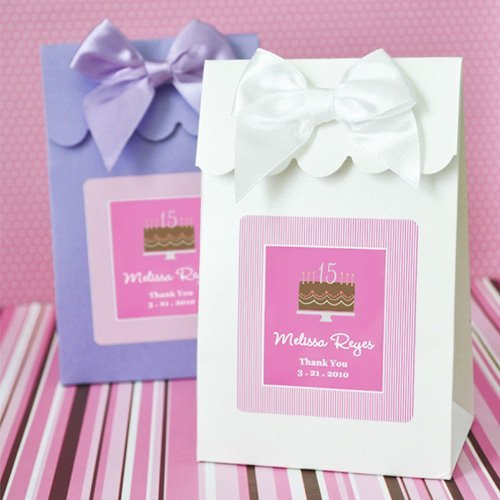 Personalized Quinceanera Favor Bags