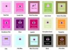 Event Blossom Quinceanera Color Chart