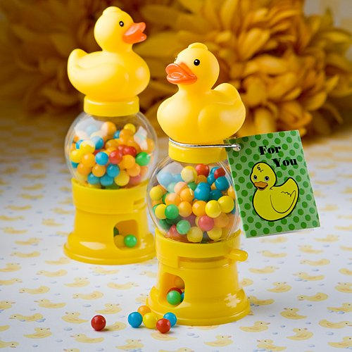 Ducky Baby Shower Candy Dispenser